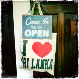 Free I Love Sri Lanka Bag